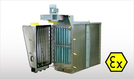 WAMAIR ATEX - Flanged Polygonal Dust Collectors ATEX-certified